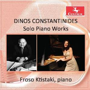 Solo Piano Works – Froso Ktistaki, Piano